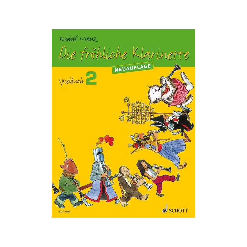 Die Fröhliche Klarinette 2 Spielbuch