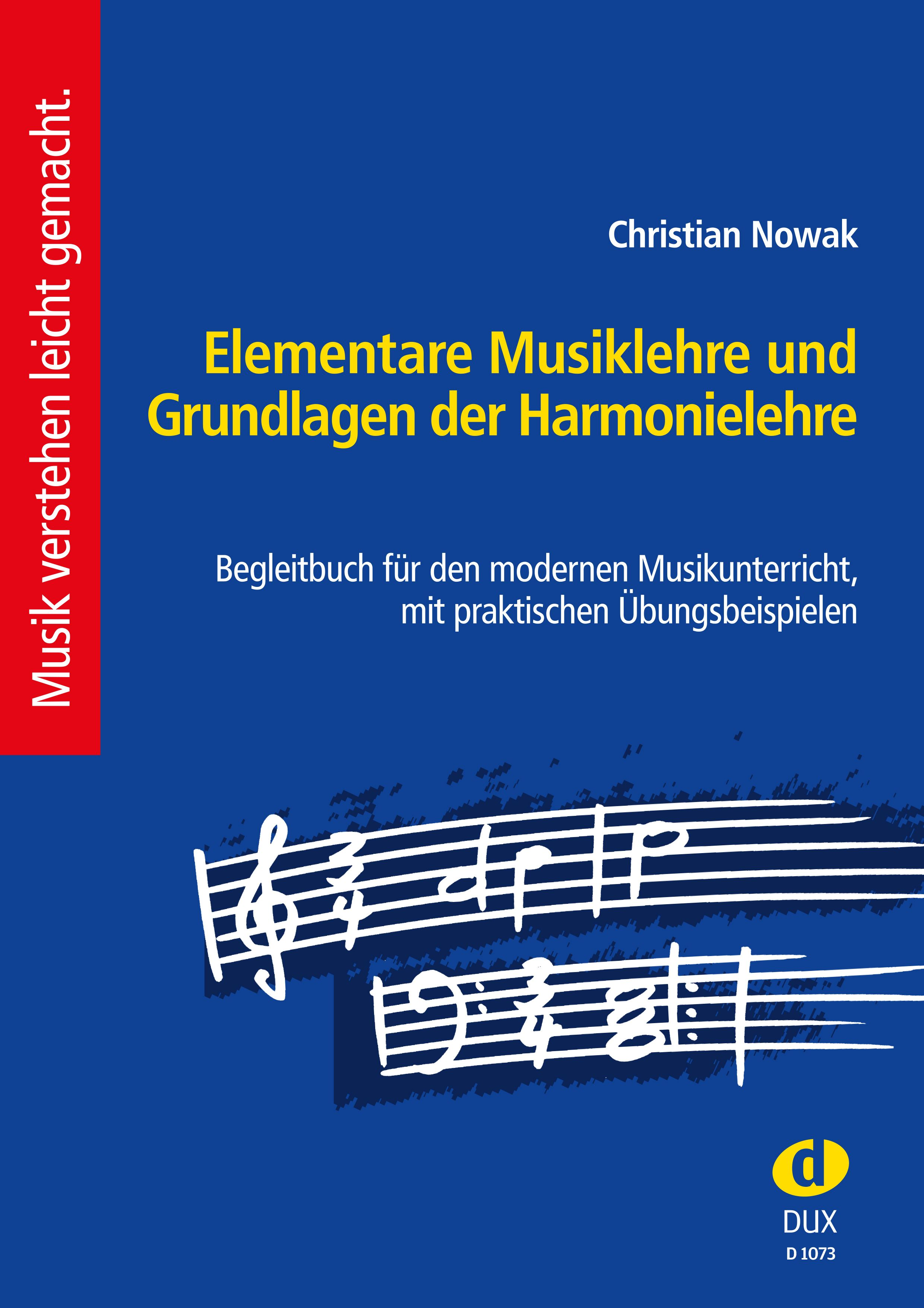 Elementare Musiklehre + Grundlagen der Harmonielehre