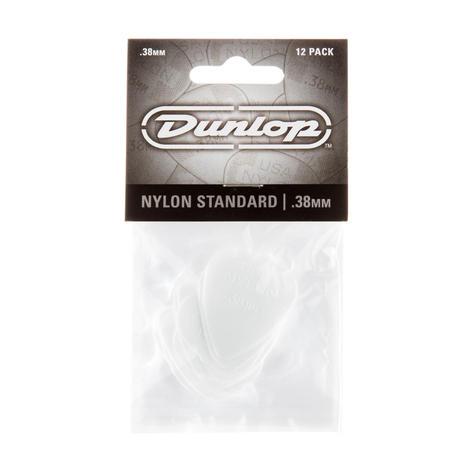 Dunlop Plectrum Nylon Standard 0,38mm 12 Stk