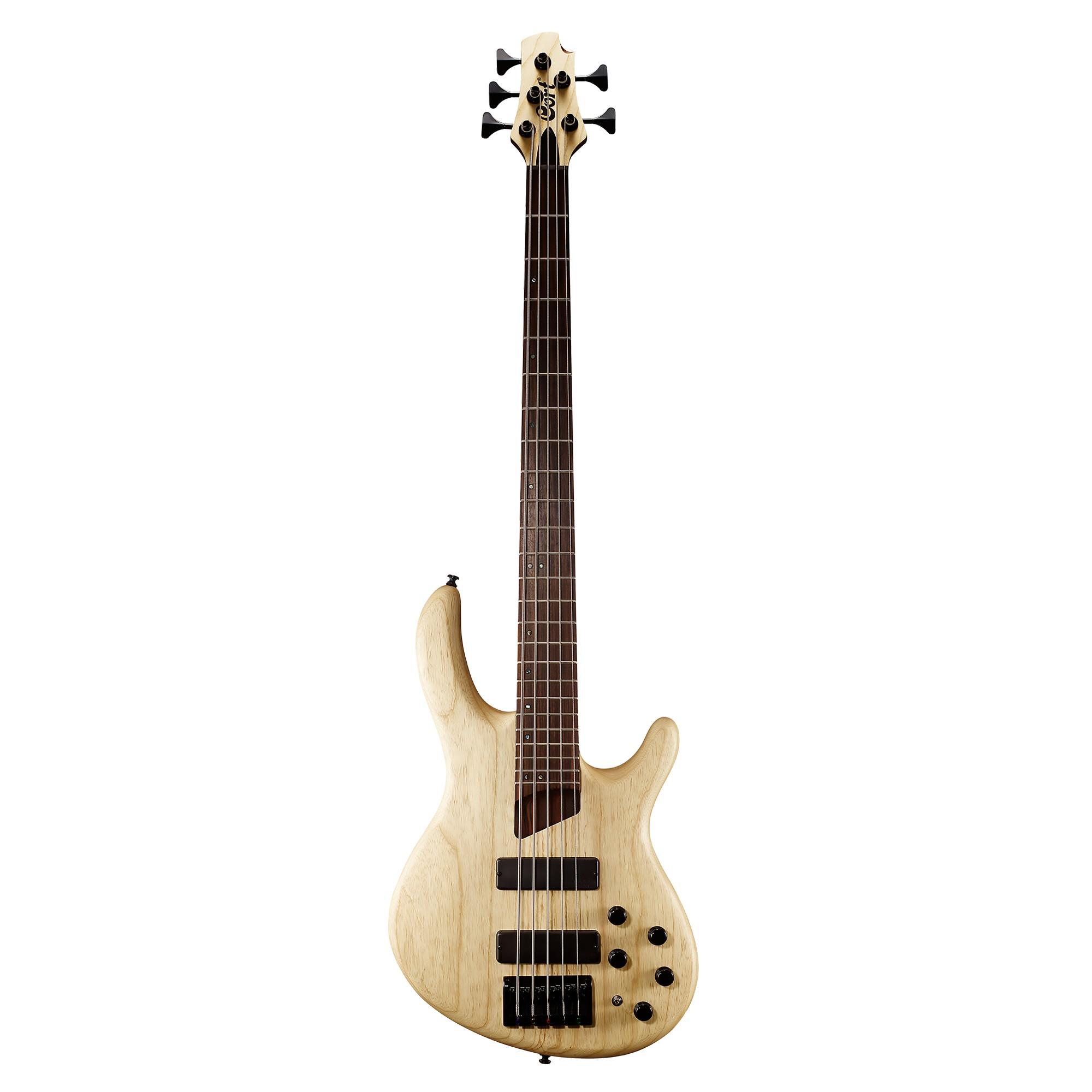 Cort E-Bass B5 Plus AS Open Pore Natural