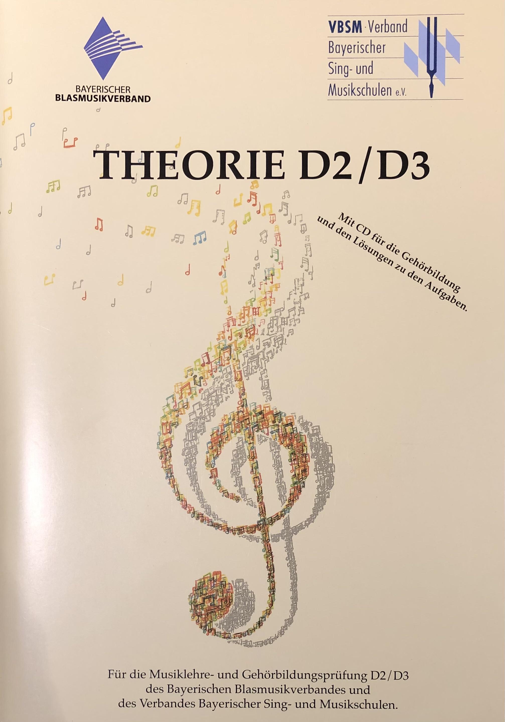 Theorie D2 D3 - Theorie + Gehörbildungslehrgang