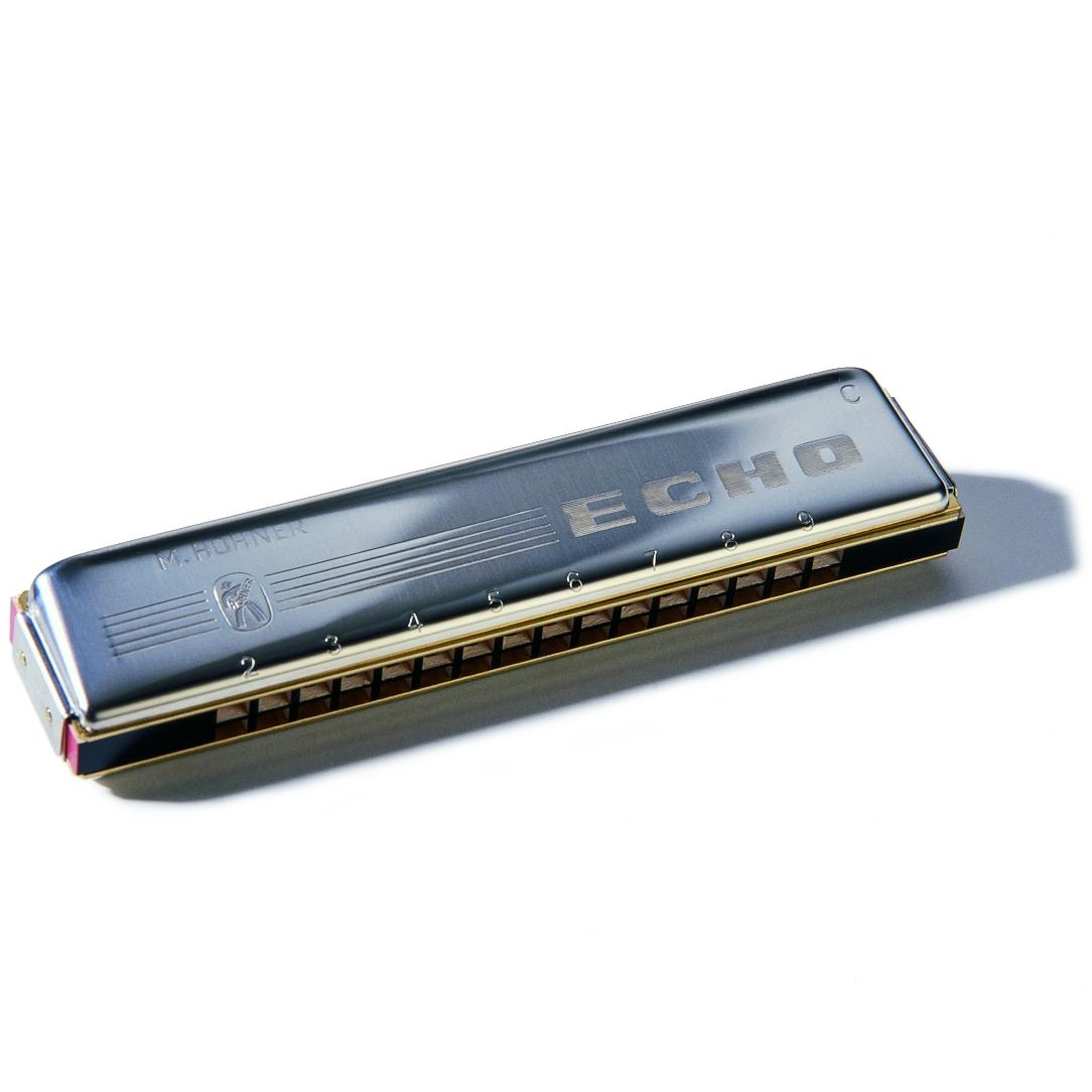 Hohner Mundharmonika Echo C 32 Stimmzungen