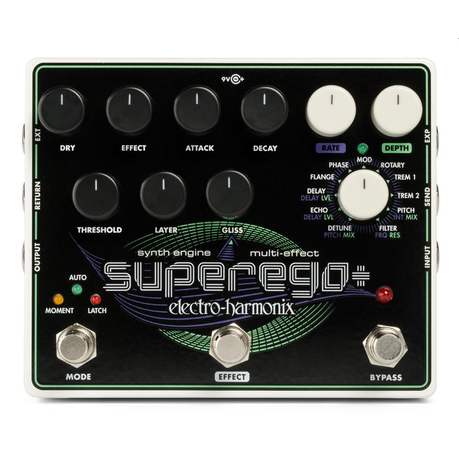 Electro Harmonix Superego+ Synth Engine / Multi Effect