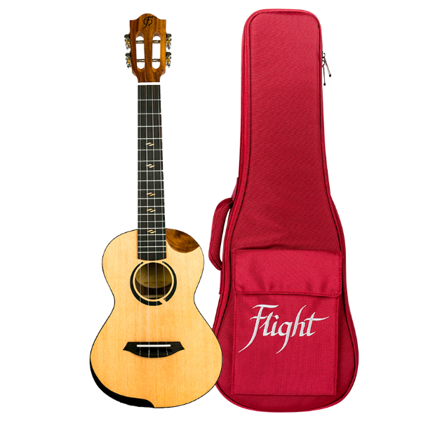 Flight Ukulele Victoria Concert CEQ-A mit Tasche