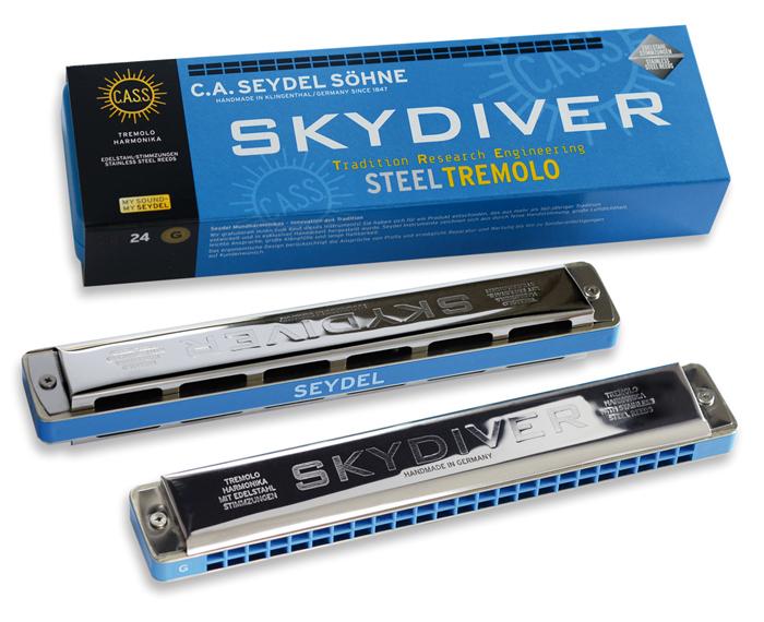 Seydel Skydiver Steel Tremolo D