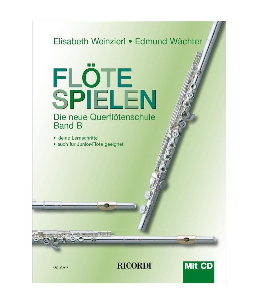 Flöte spielen B