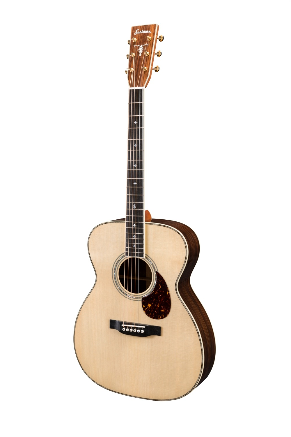 Eastman DT30OM Nomex Double Top Rosewood inklusive Koffer