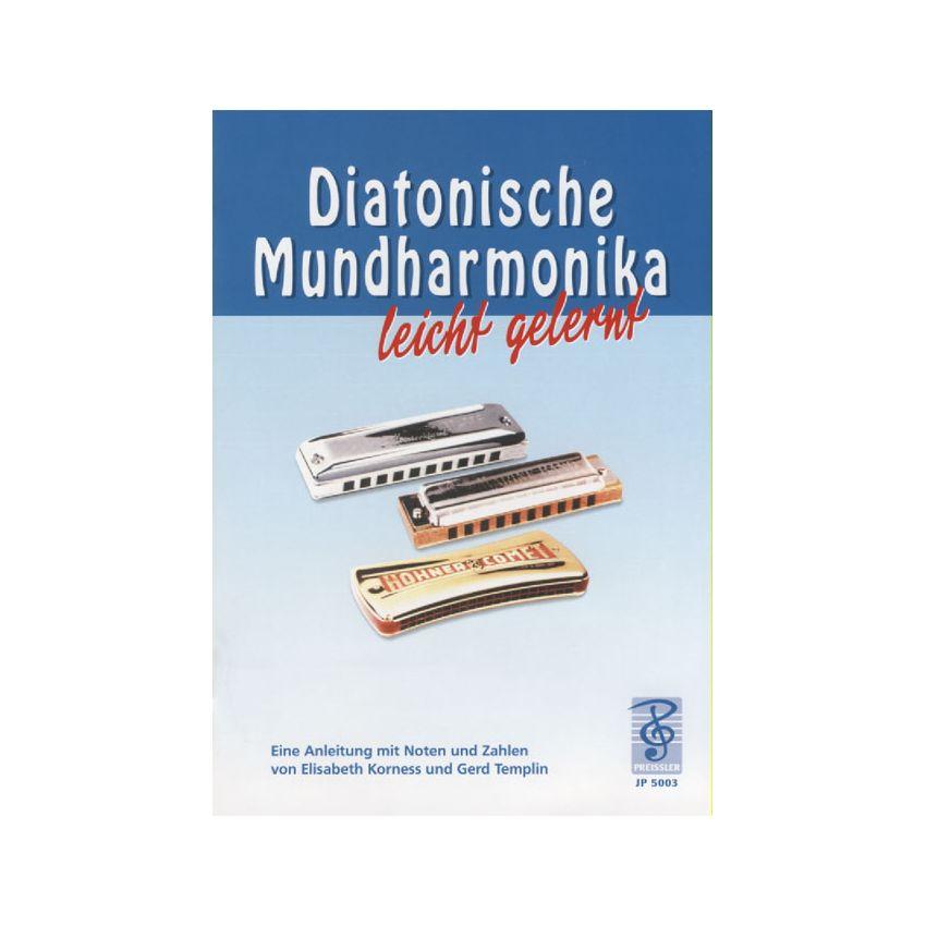 Diatonische Mundharmonika leicht gelernt