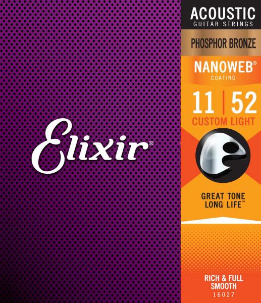 Elixir 11er Nanoweb Phosphorbronze
