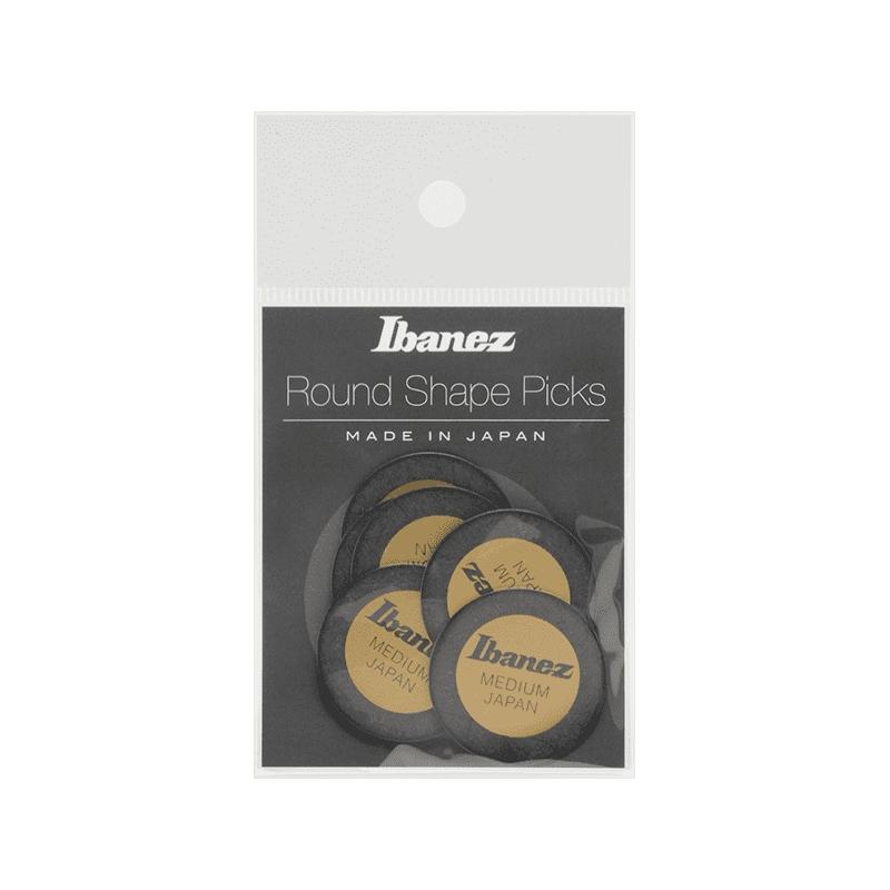 IBANEZ Round Pick 0,8mm 6 Stück schwarz