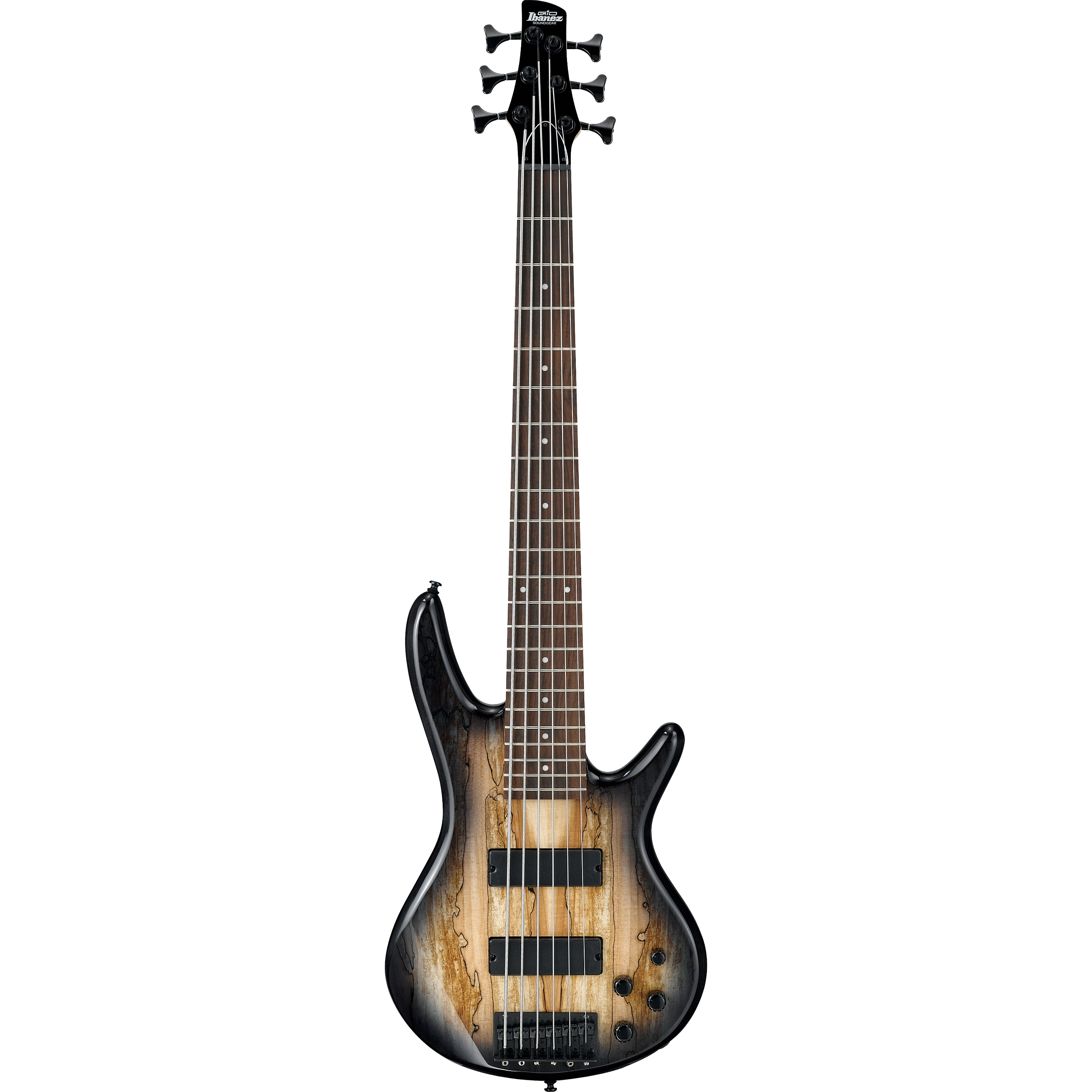 Ibanez GSR206SM 6-String Natural Gray Burst