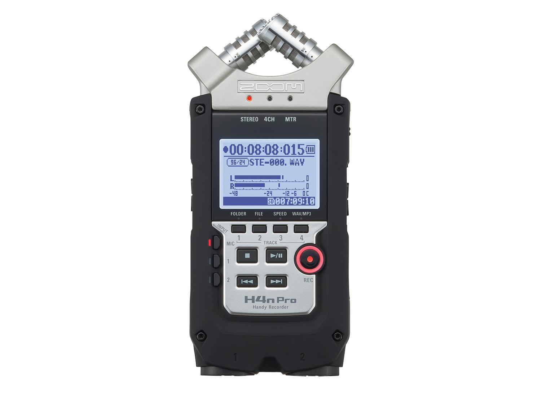 ZOOM H4n Pro Aufnahmegerät Handy Recorder mit USB-Interface