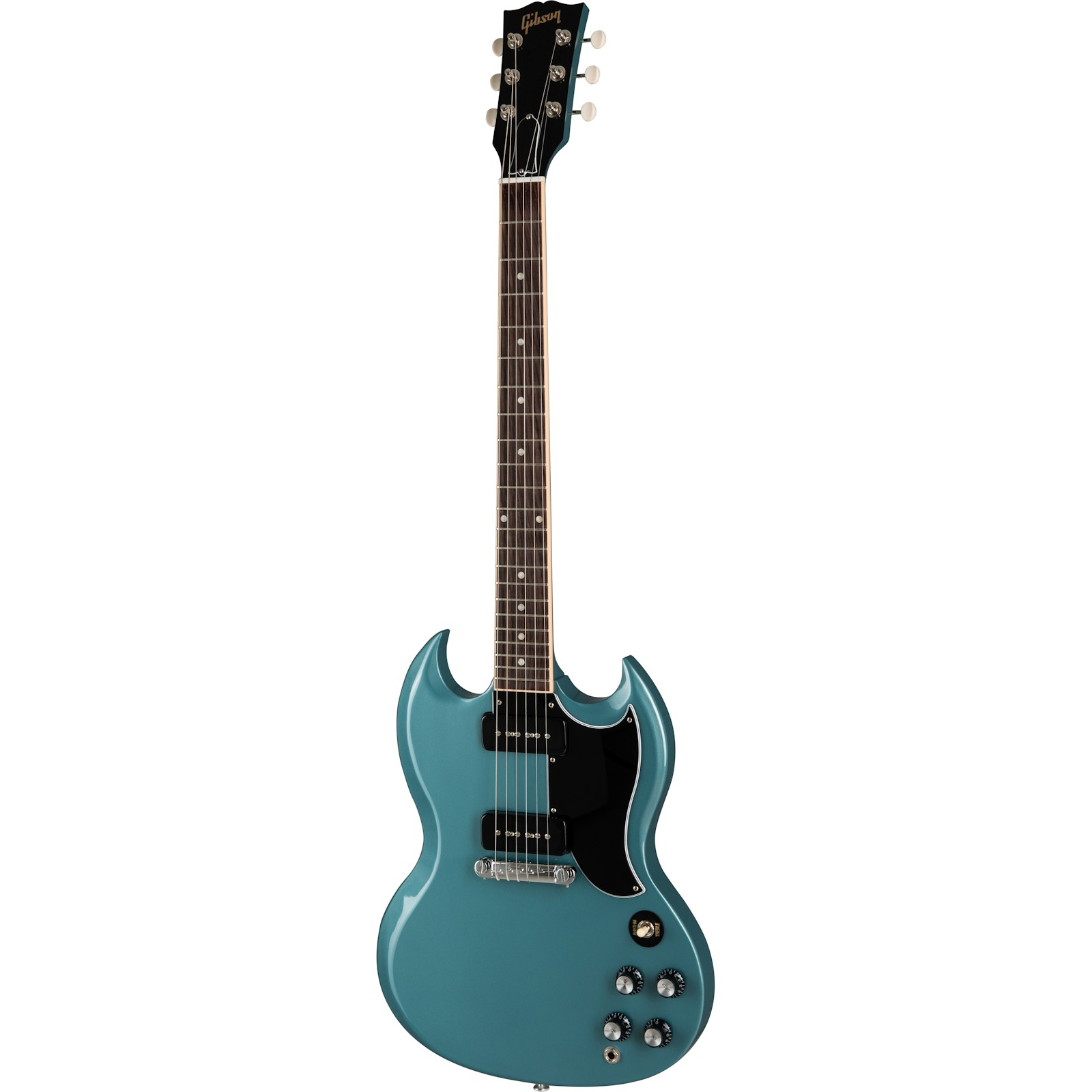 Gibson SG Special Faded Pelham Blue inklusive Koffer