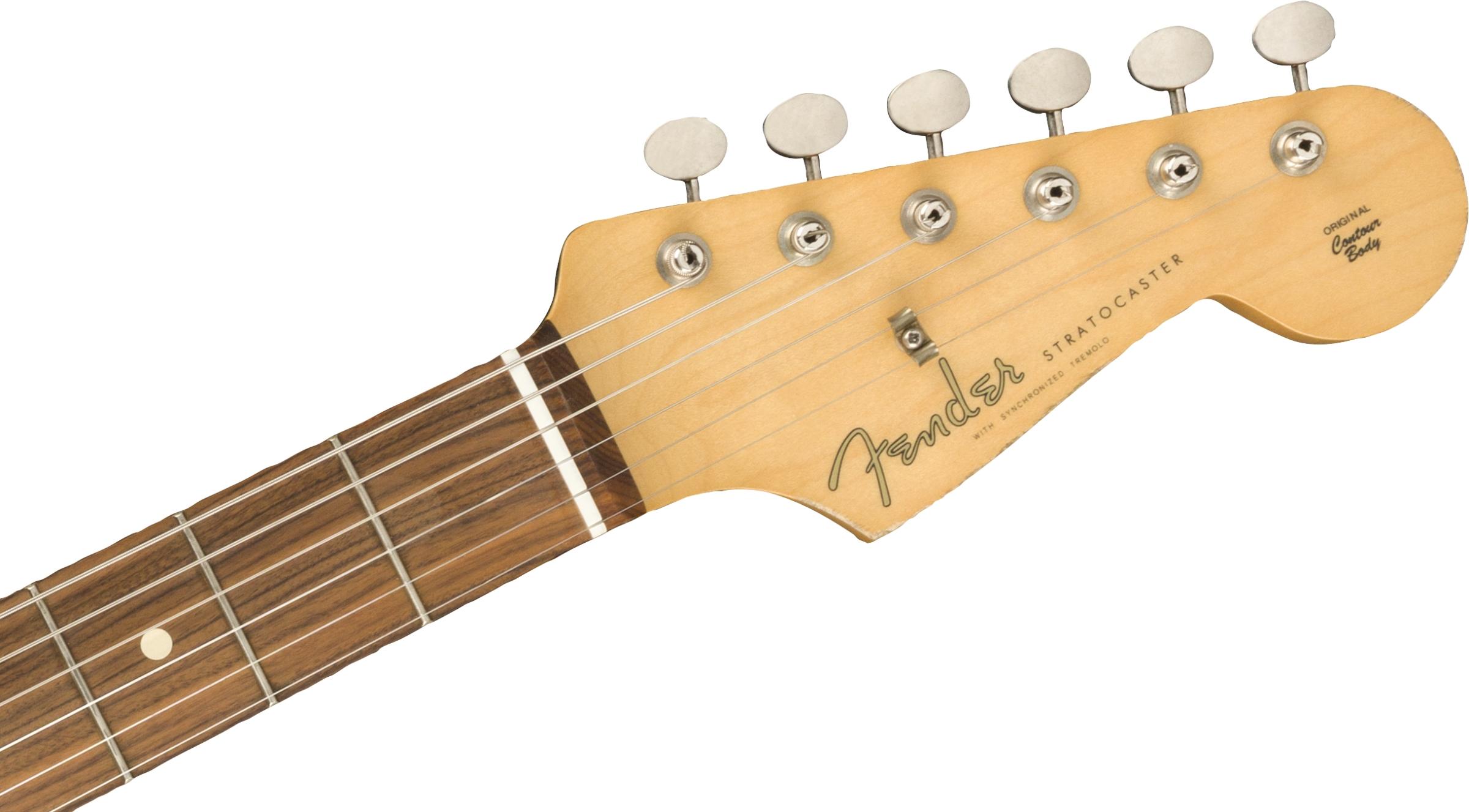 Fender Vintera Road Worn® '60s Stratocaster®, Pau Ferro Fingerboard, Firemist Gold