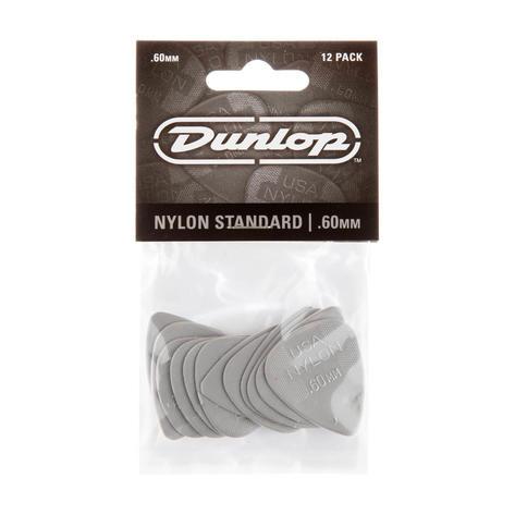 Dunlop Plectrum Nylon Standard 0,60mm 12 Stk
