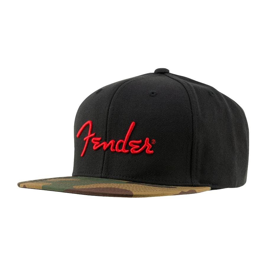 Fender Camo Flatbill Cap