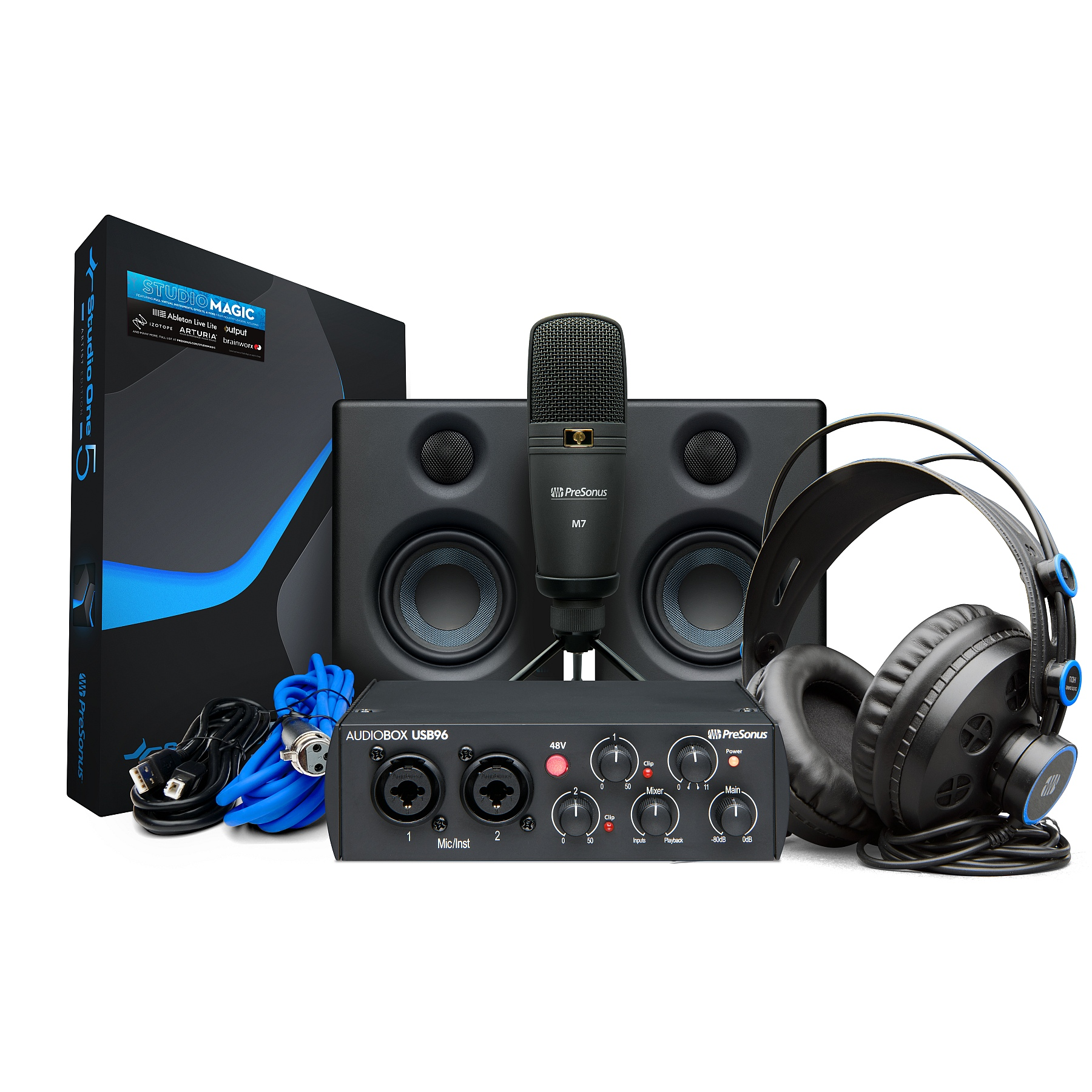 PreSonus AudioBox Studio Ultimate Bundle 25th Anniversary Black Edition