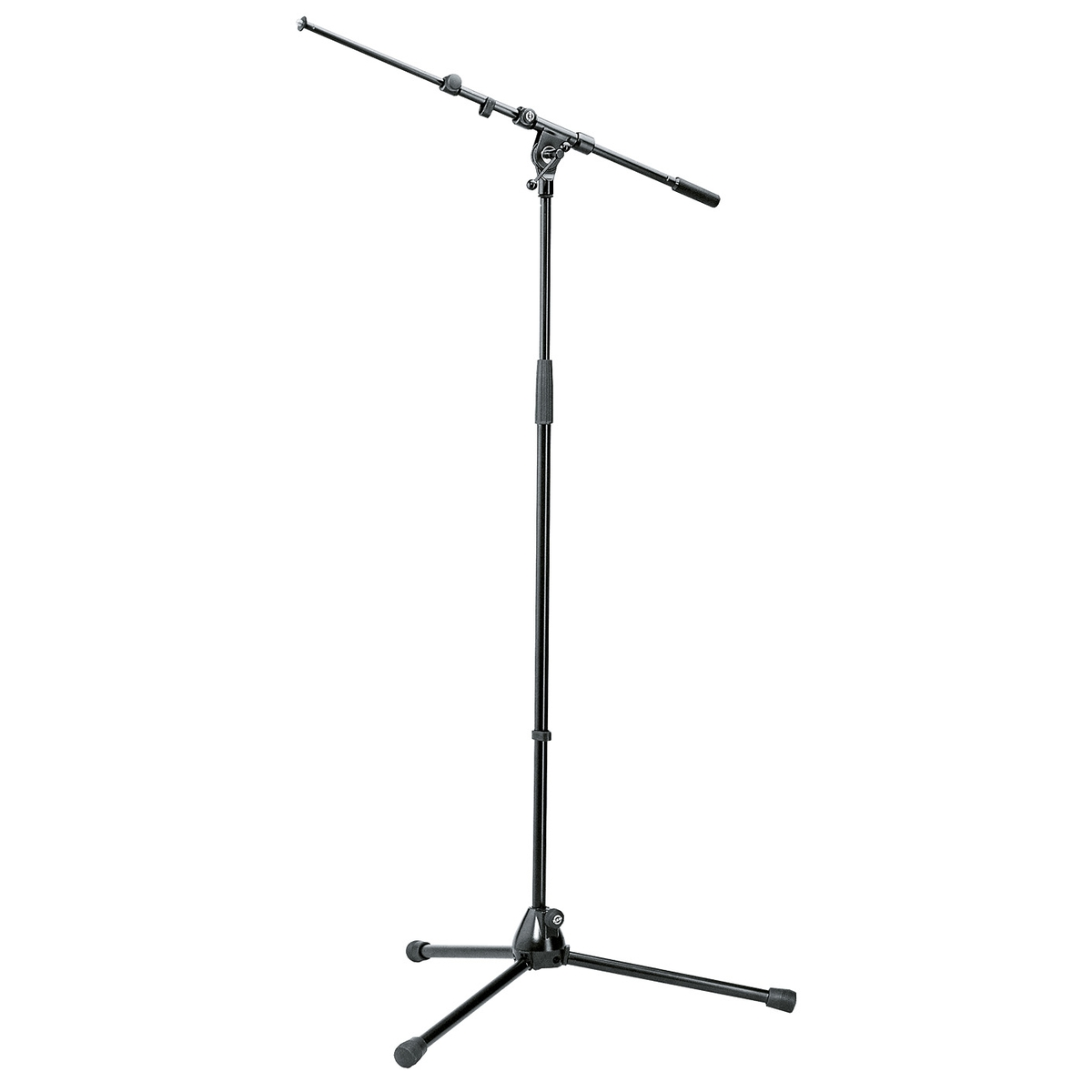 K&M 210/9 Mikrofonstativ PROLINE mit ausziehbarem Galgen schwarz