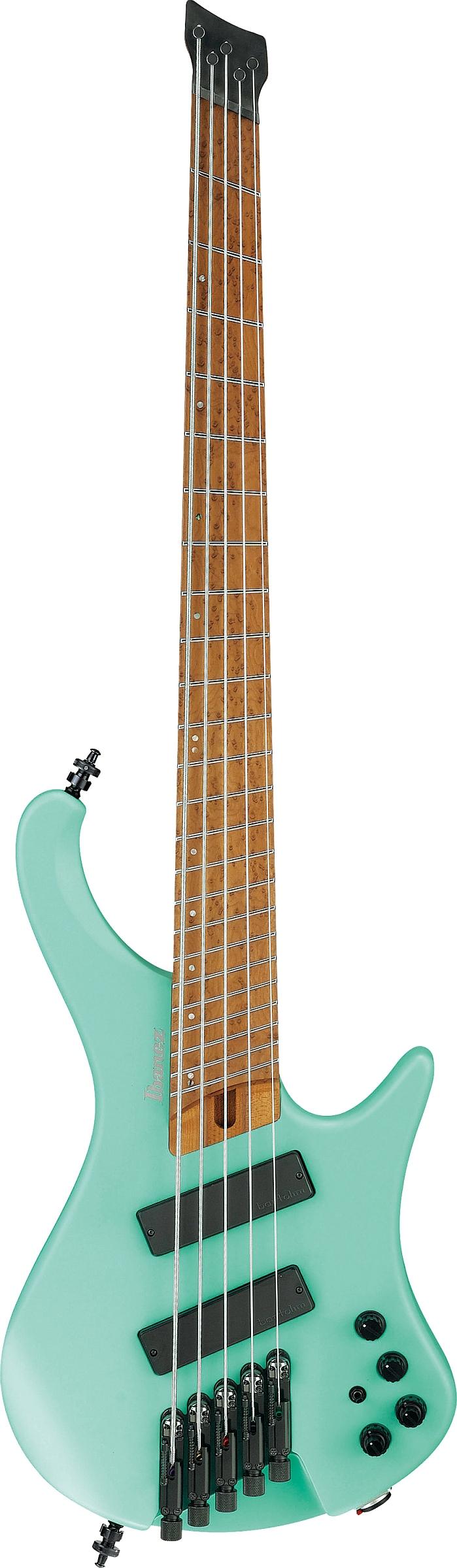 Ibanez EHB1005MS-SFM E-Bass 5-String Multiscale Sea Foam Green + Gigbag B-Stock