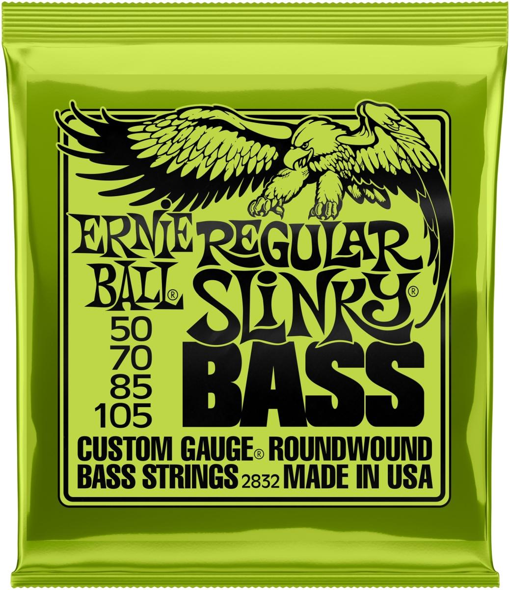 Ernie Ball EB2832 Regular Slinky 50-105 E-Bass Saiten
