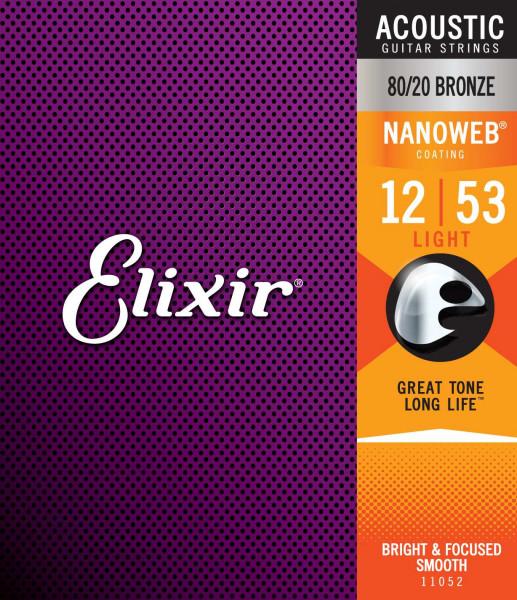 Elixir 12er Nanoweb 80/20 Bronze
