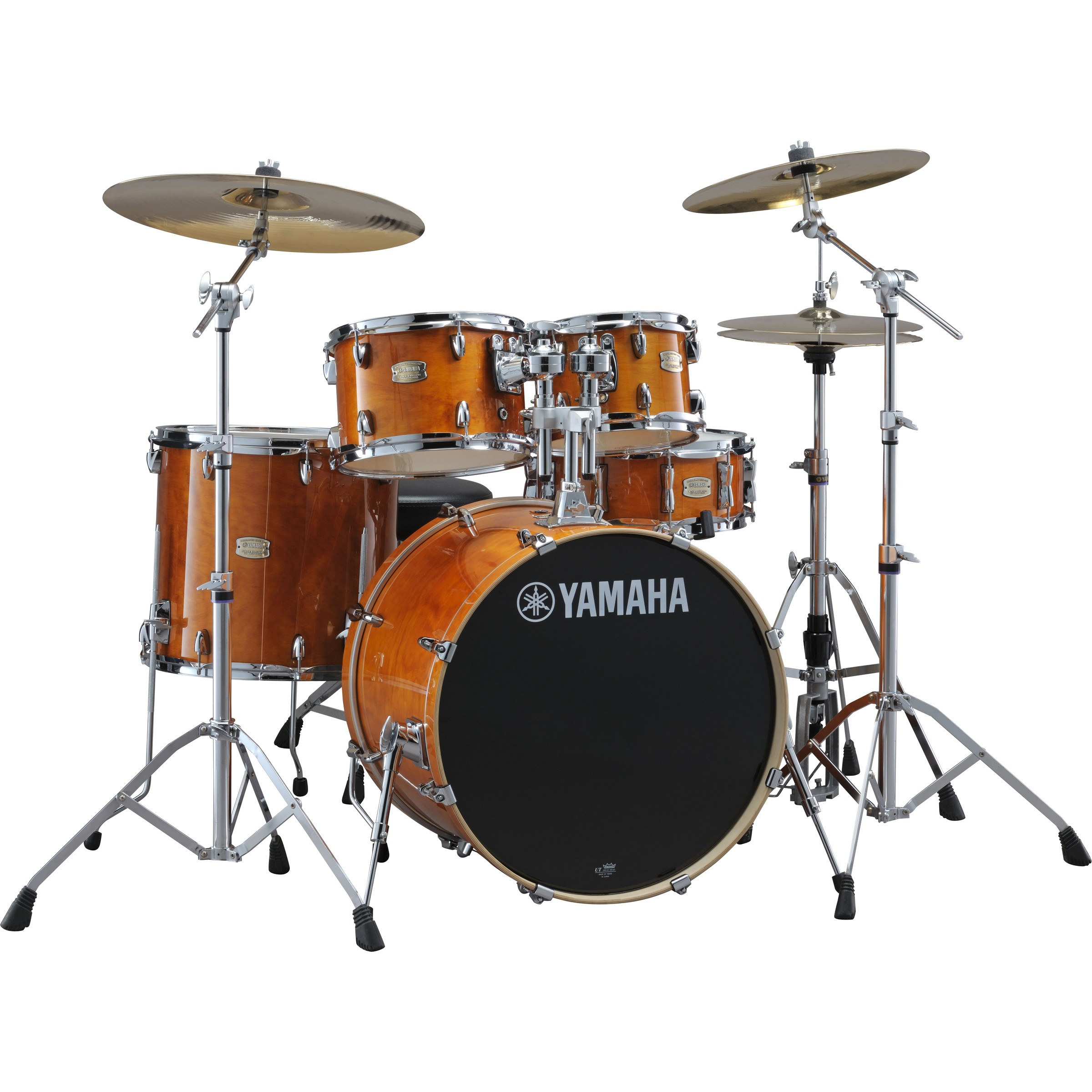 "Yamaha Stage Custom Birch 22""  Honey Amber Schlagzeugset inkl. Hardware"