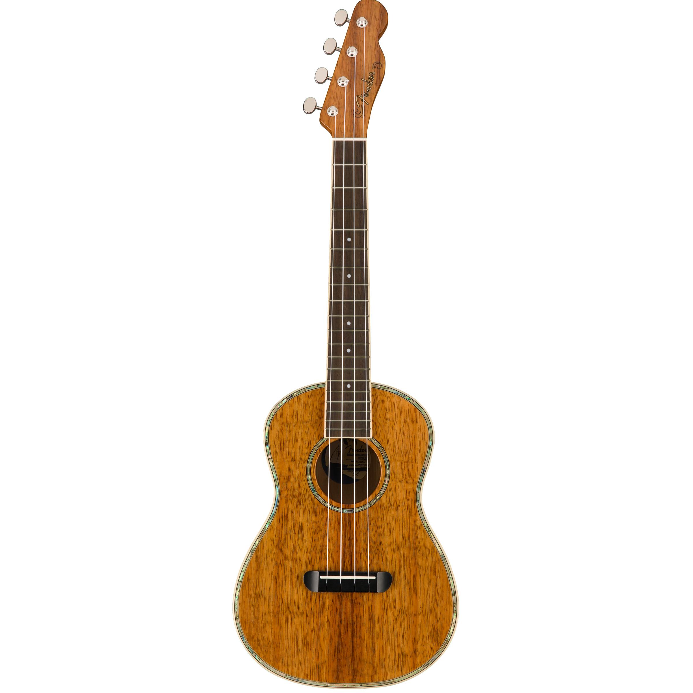 Fender Montecito Tenor Ukulele inklusive Tasche