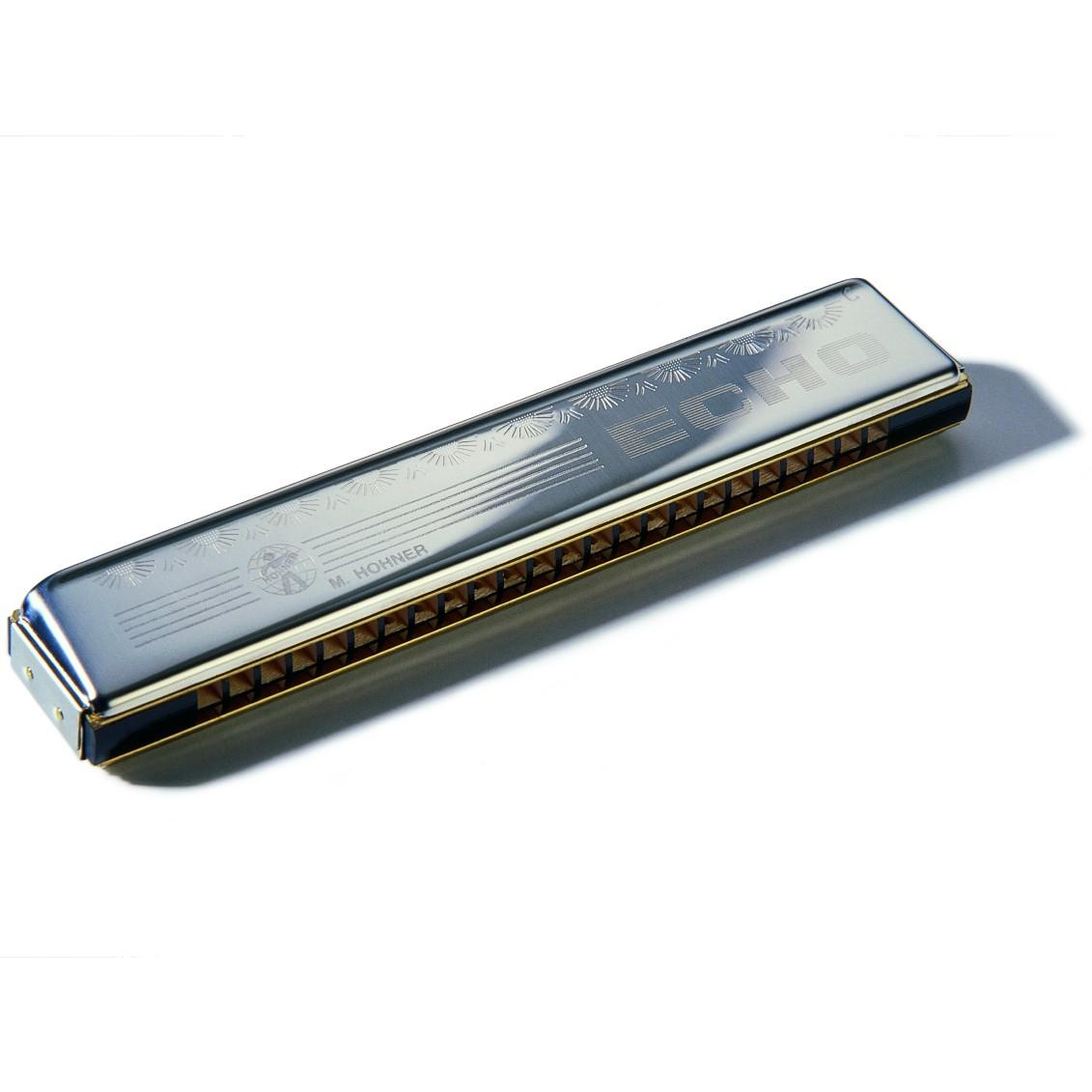 Hohner Mundharmonika Echo C 48 Stimmzungen