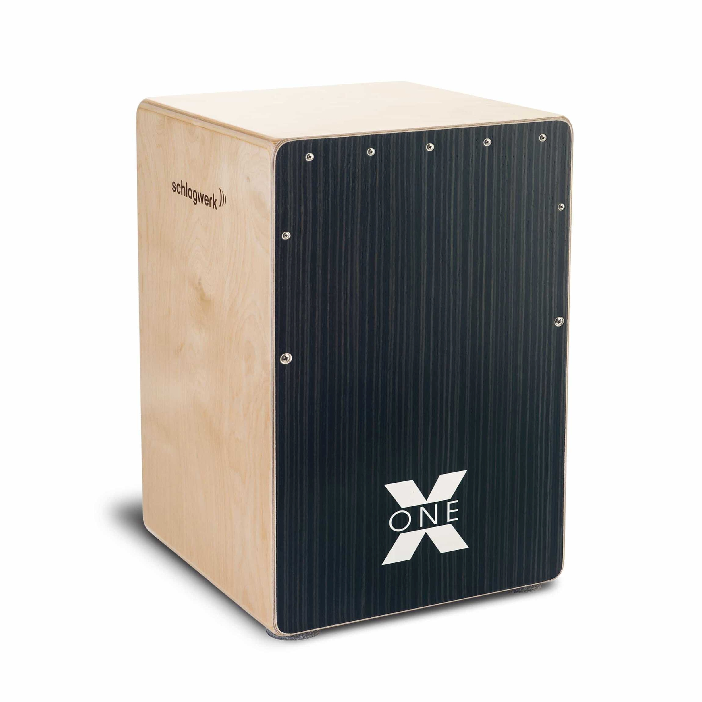 Schlagwerk Cajon X-One Hard Coal Stripes