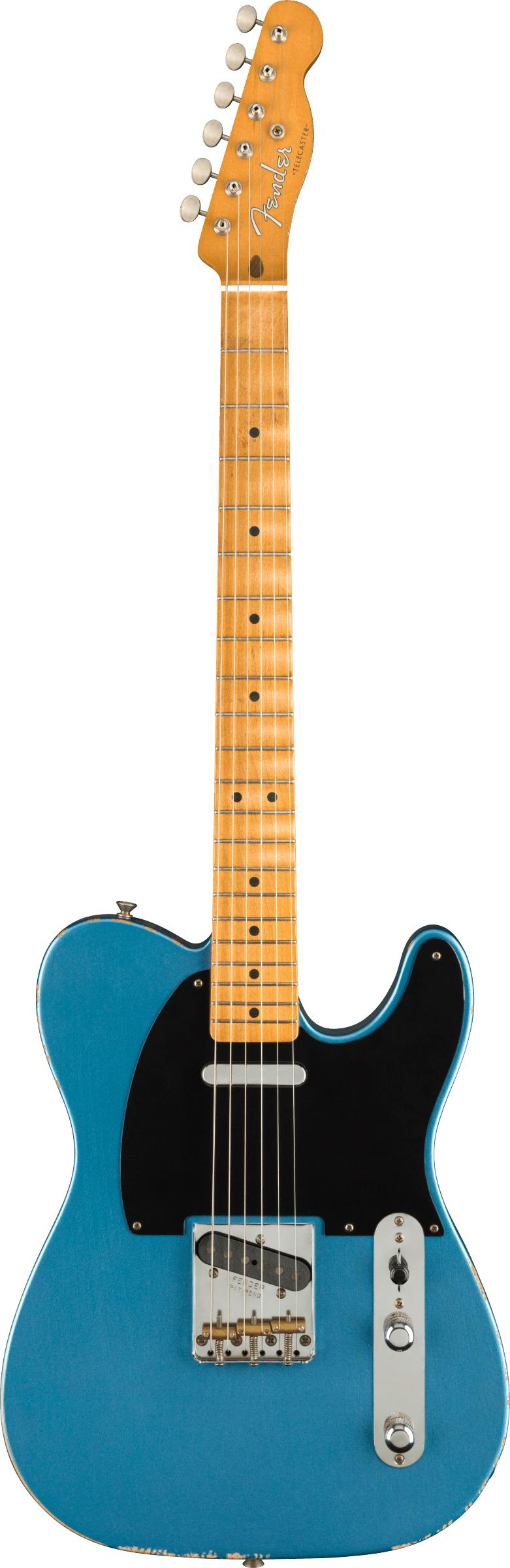 Fender Vintera Road Worn® '50s Telecaster®, Maple Fingerboard, Lake Placid Blue