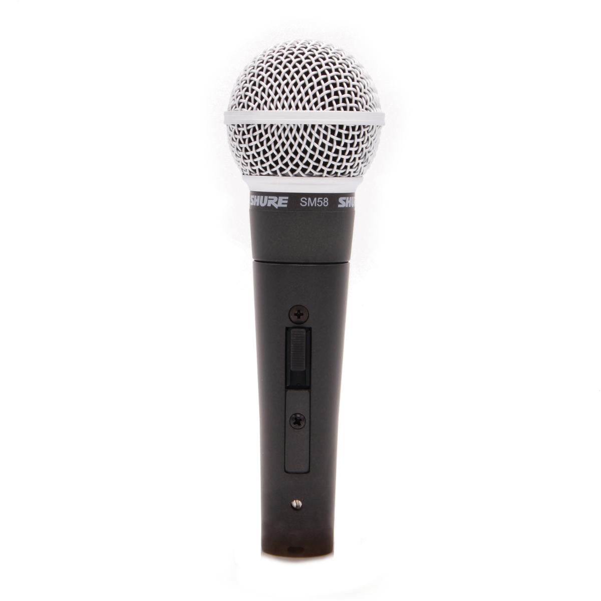 Shure SM 58 S Gesangsmikrofon mit Schalter