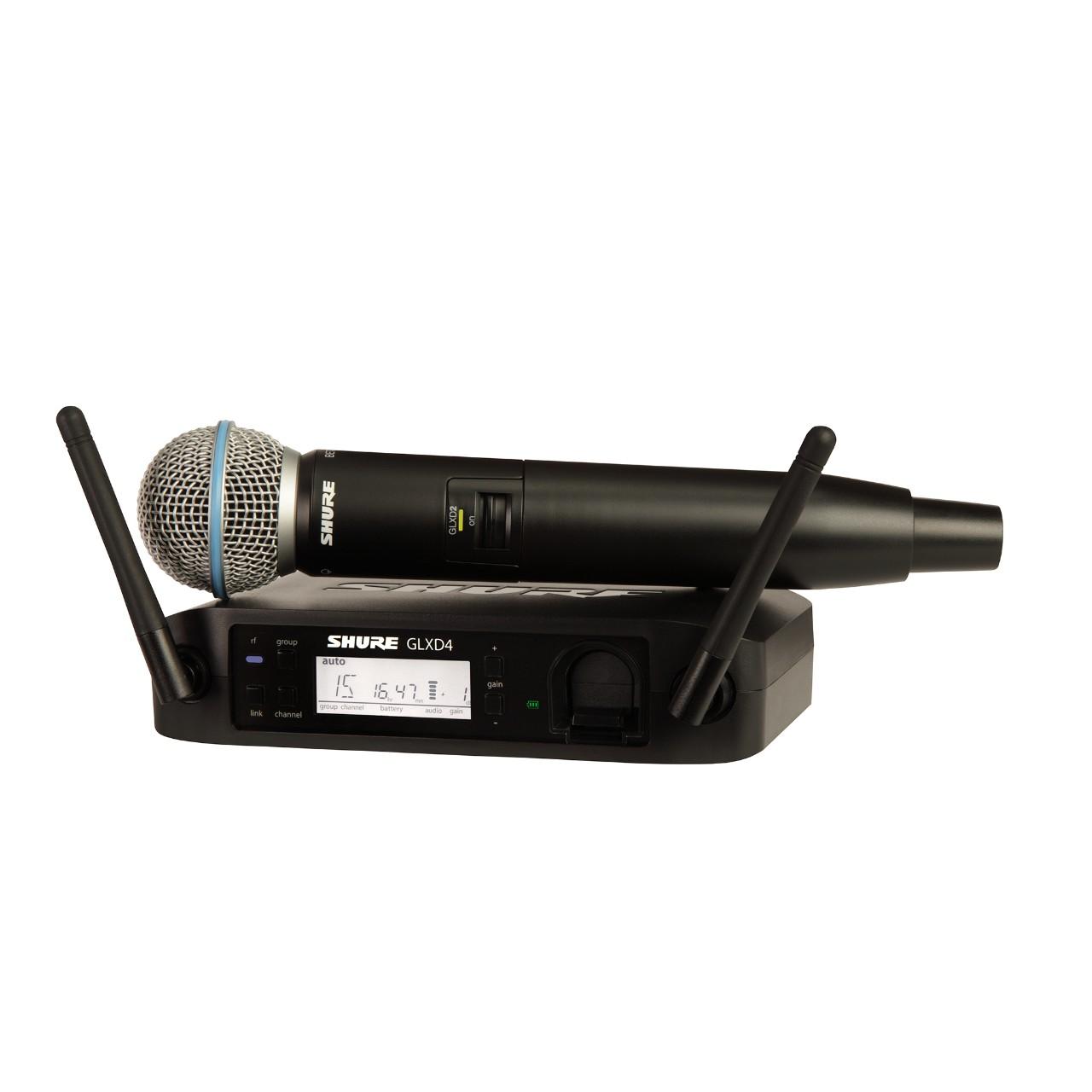 Shure GLXD24/B58A Funksystem mit Beta 58A Mikrofon