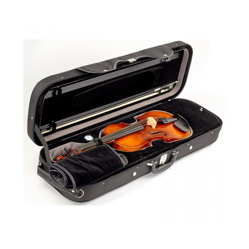 Höfner Violingarnitur H8 4/4 mit Koffer und Bogen