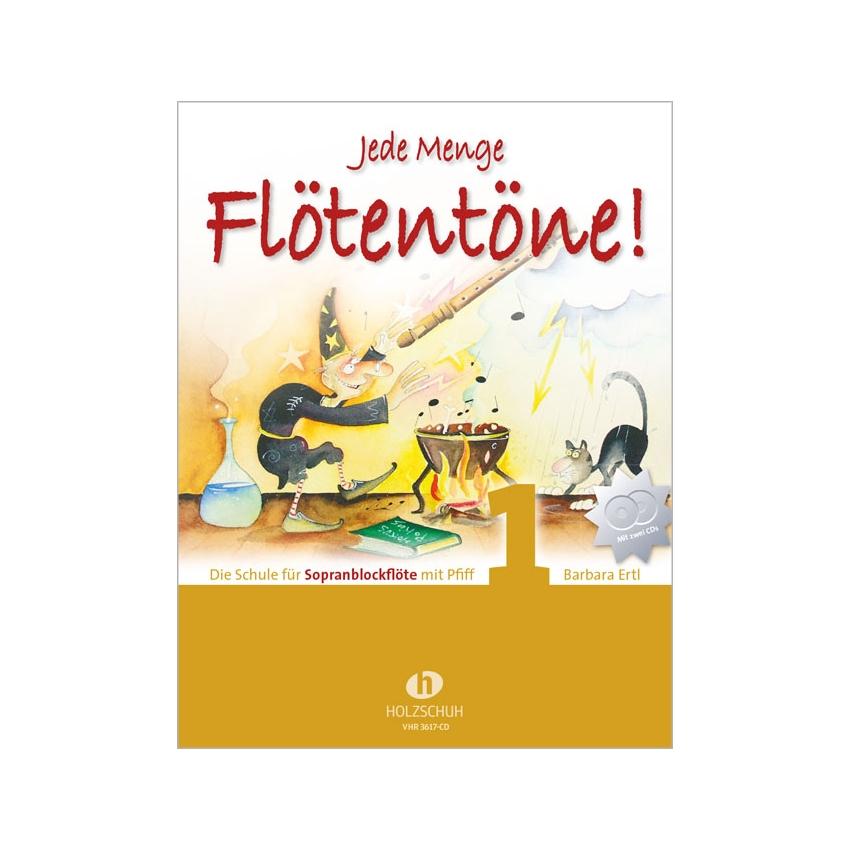 Jede Menge Flötentöne 1 mit CD