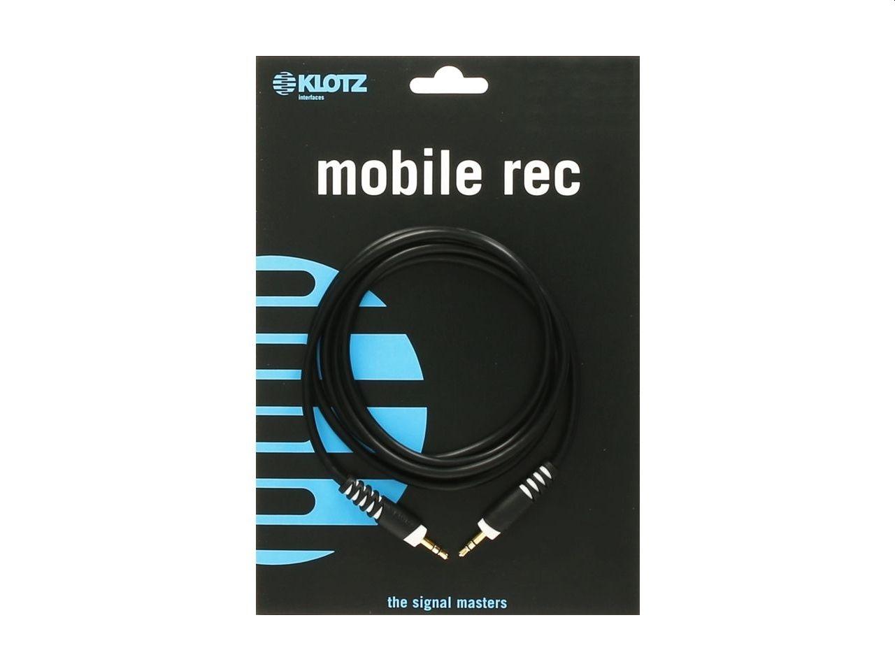 Klotz 3,5mm Klinke stereo an 3,5mm Klinke stereo 3m