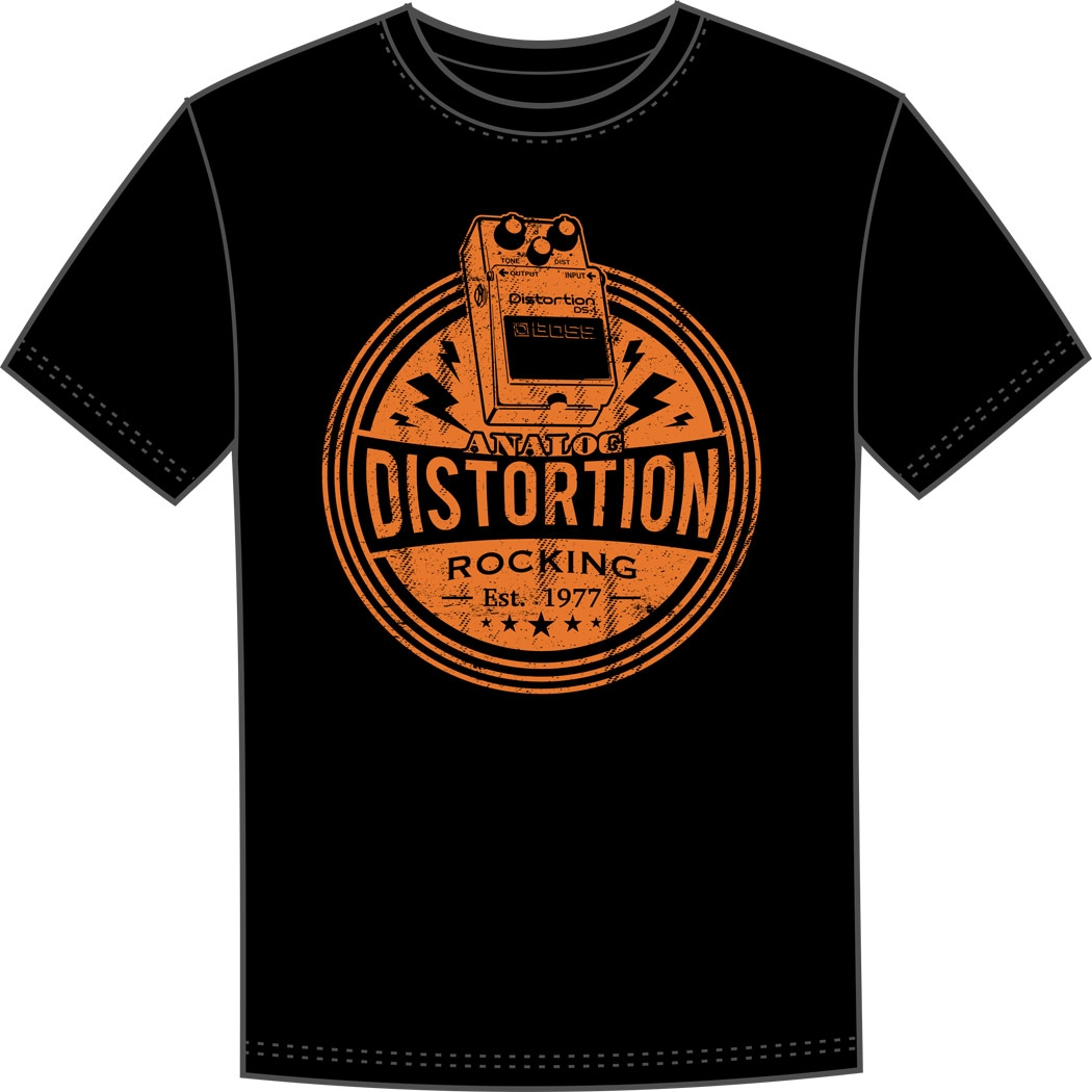 T-Shirt M Boss DS-1 Distortion