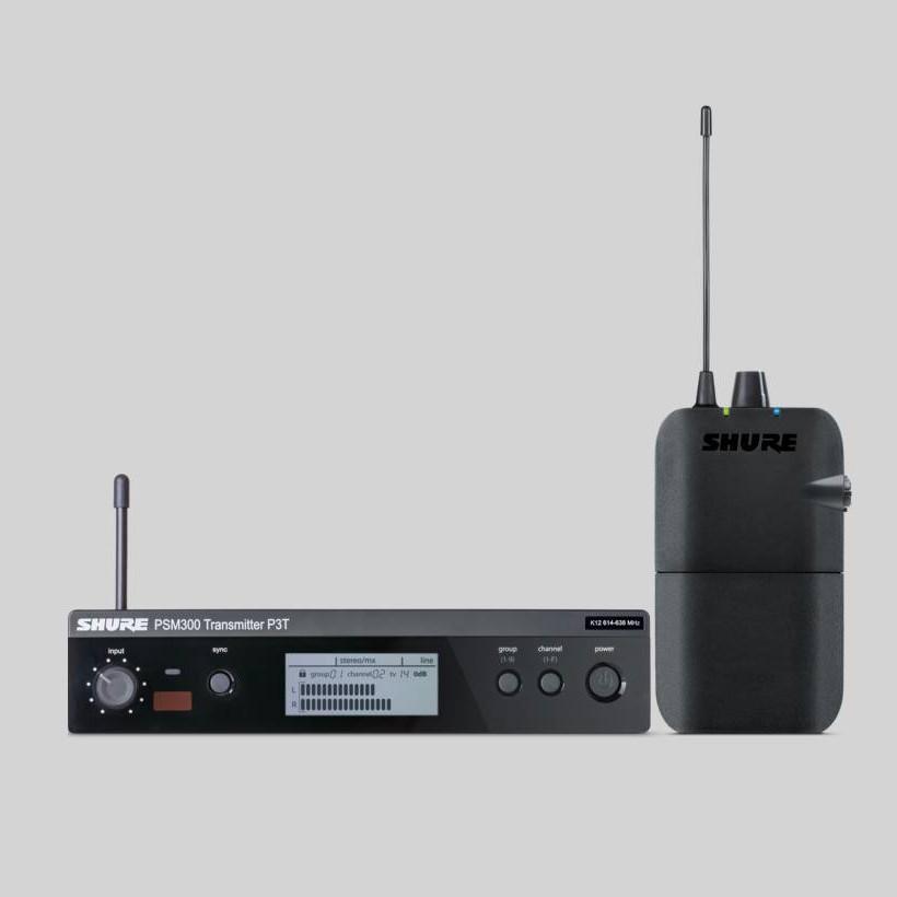 Shure PSM 300 S8 In-Ear Set Empfänger und Sender