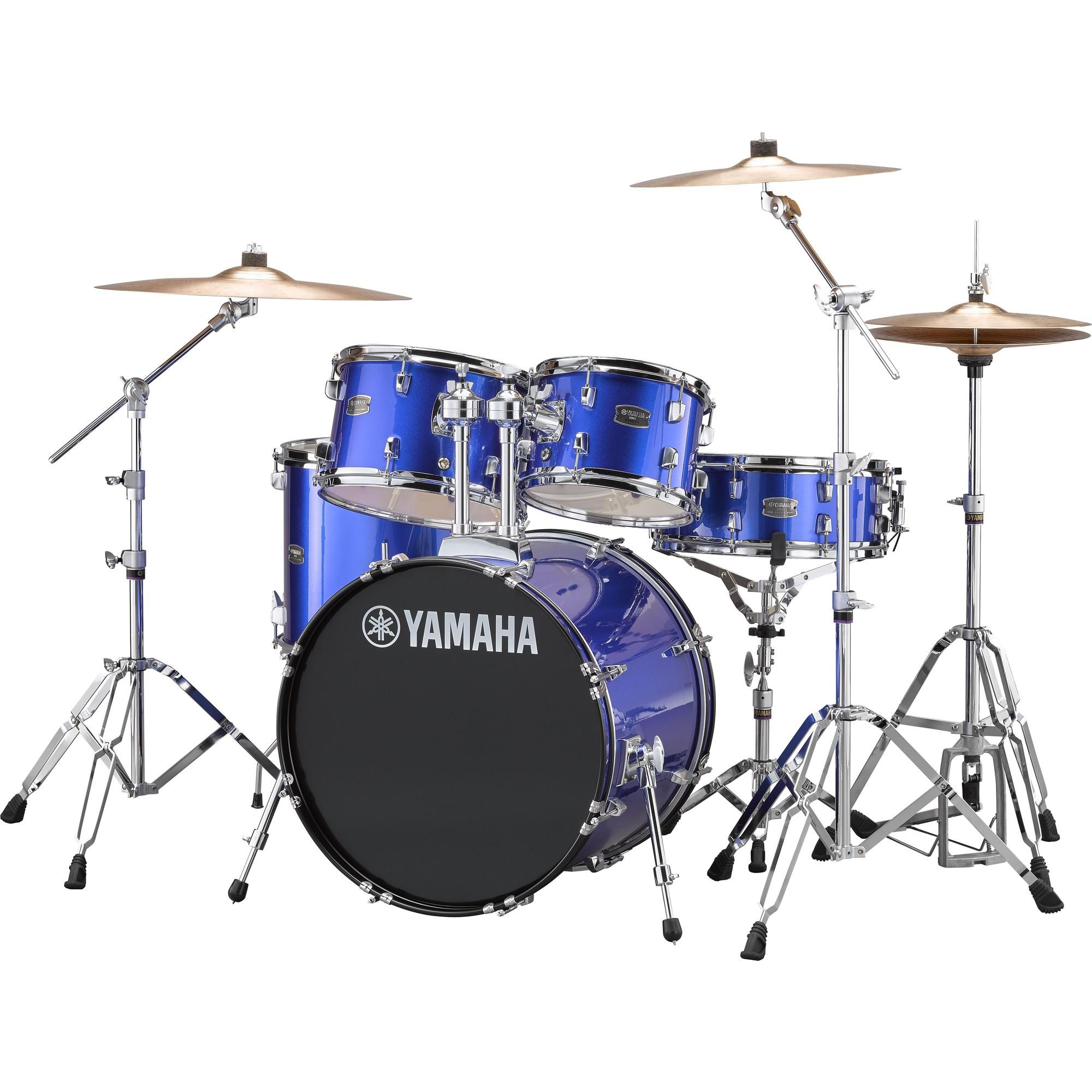 """Yamaha Rydeen 20"""" fine blue Schlagzeugset inkl. Becken"""