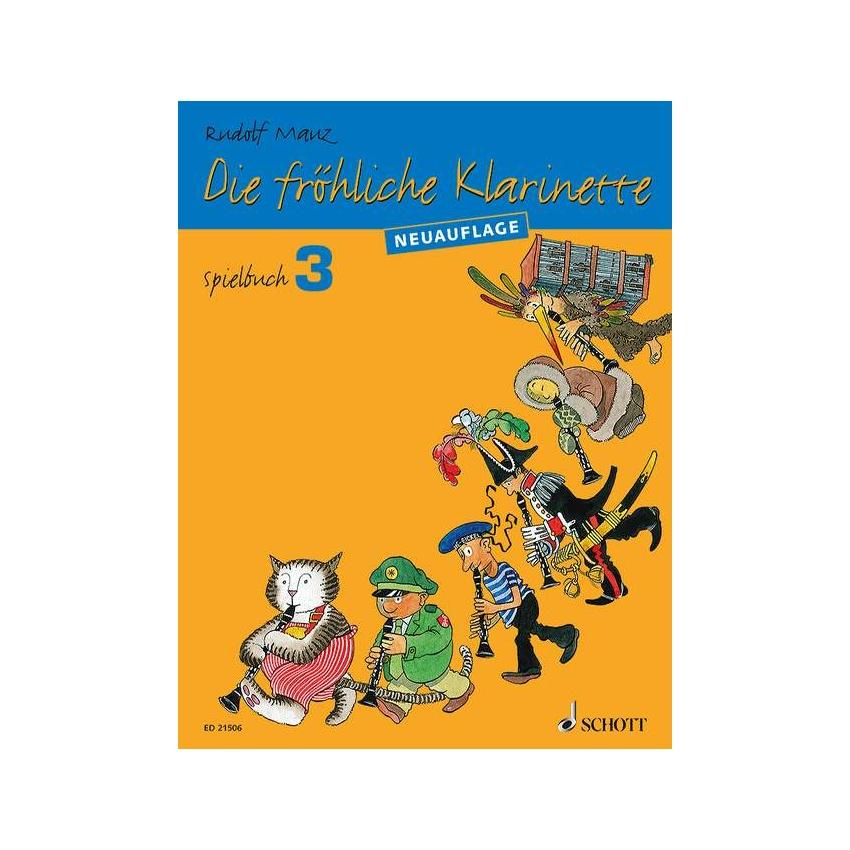 Die fröhliche Klarinette 3 Spielbuch