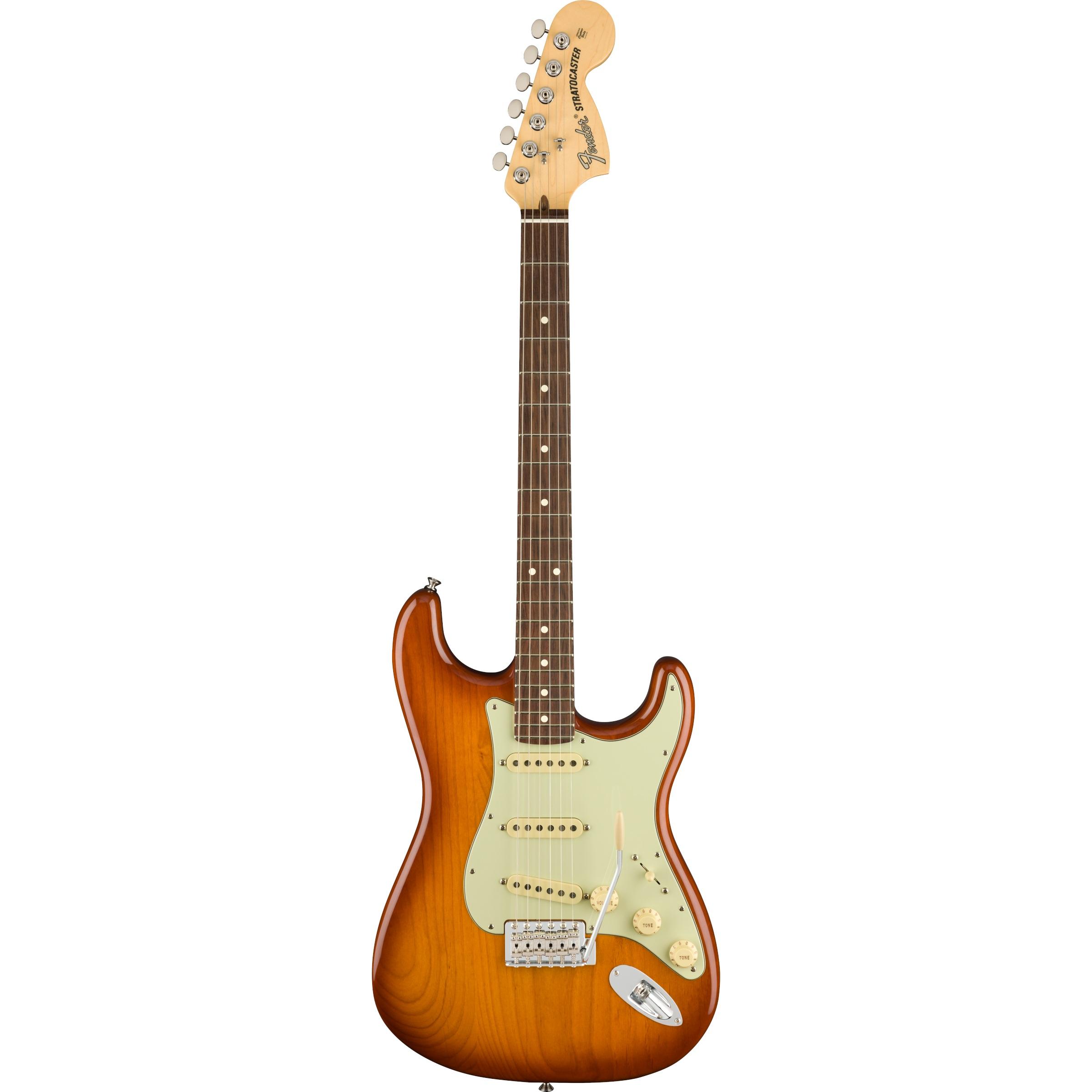 Fender American Performer Stratocaster® RW Honey Burst inklusive Gigbag