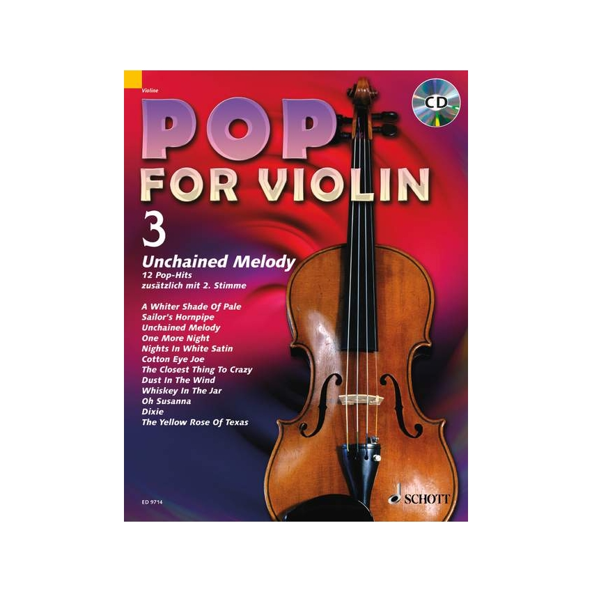 Pop for Violin 3 - Unchained Melody