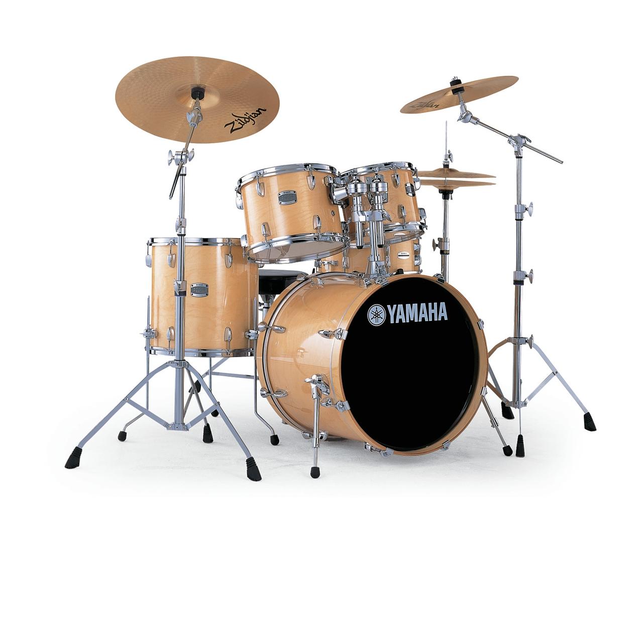 "Yamaha Stage Custom Birch 22"" Natur Schlagzeugset inkl. Hardware"