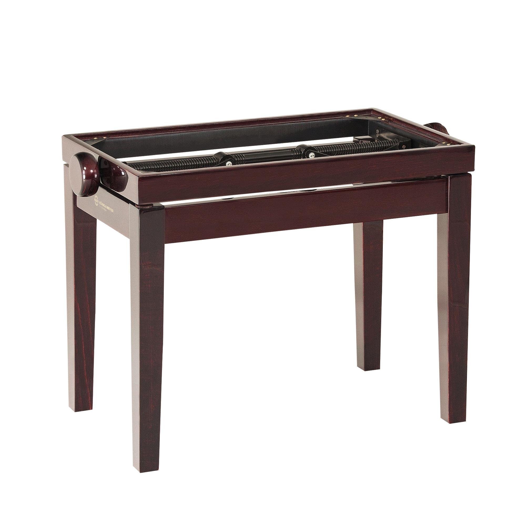K&M Klavierbank Unterteil Mahagonie hochglanz