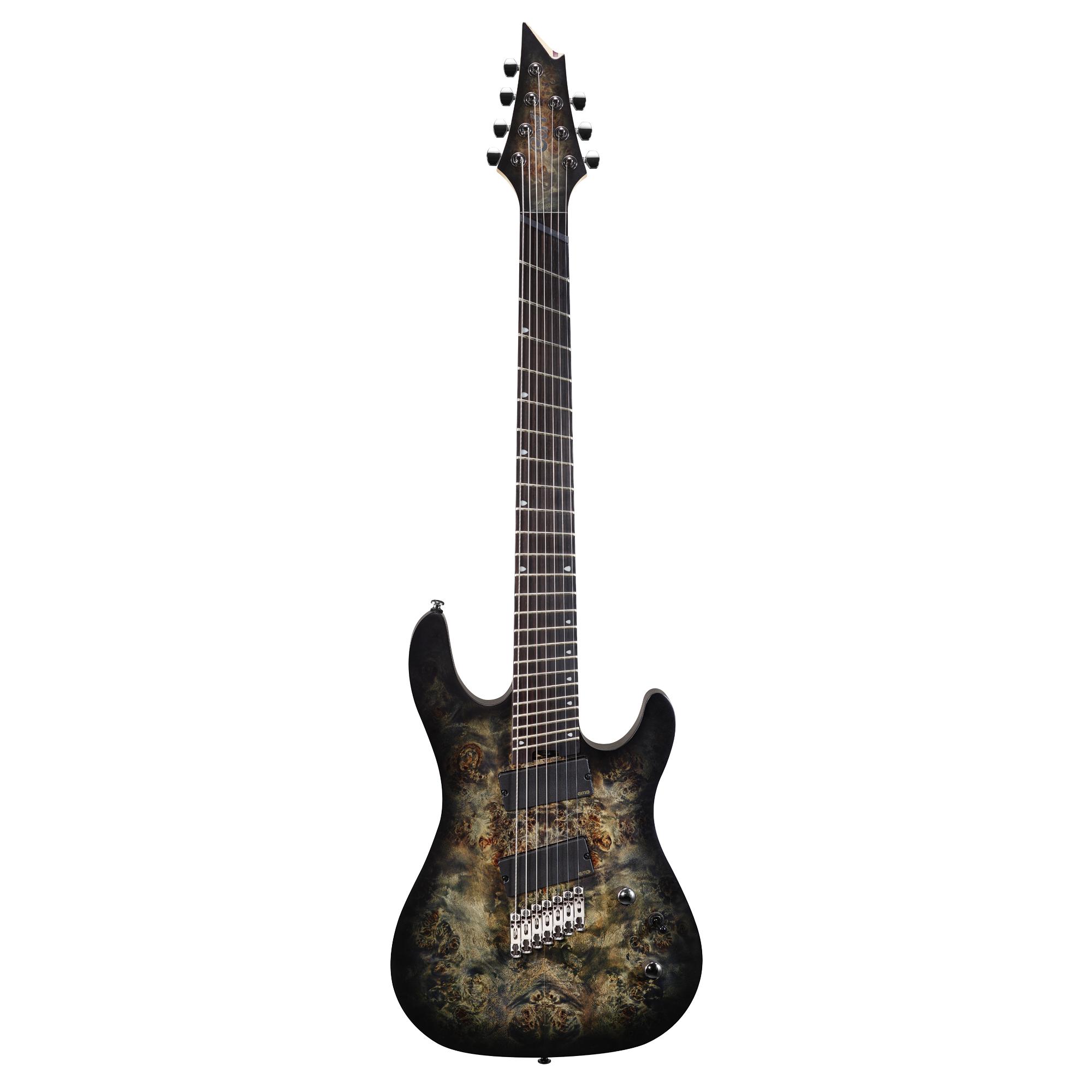 Cort E-Gitarre KX500 FF Stardust Black