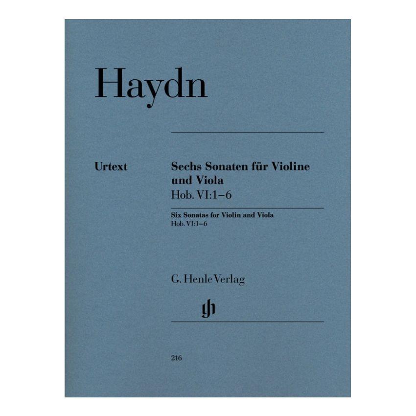 Haydn - 6 Sonaten HOB 6/1-6