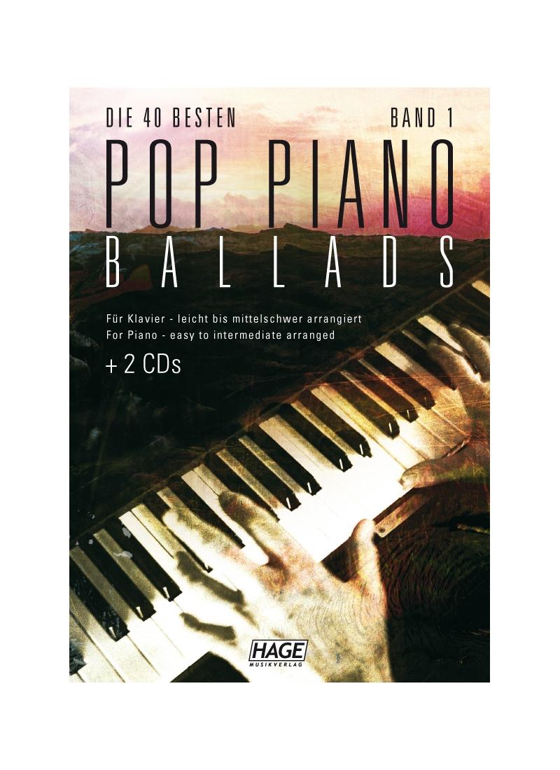 Die 40 besten Pop Piano Ballads