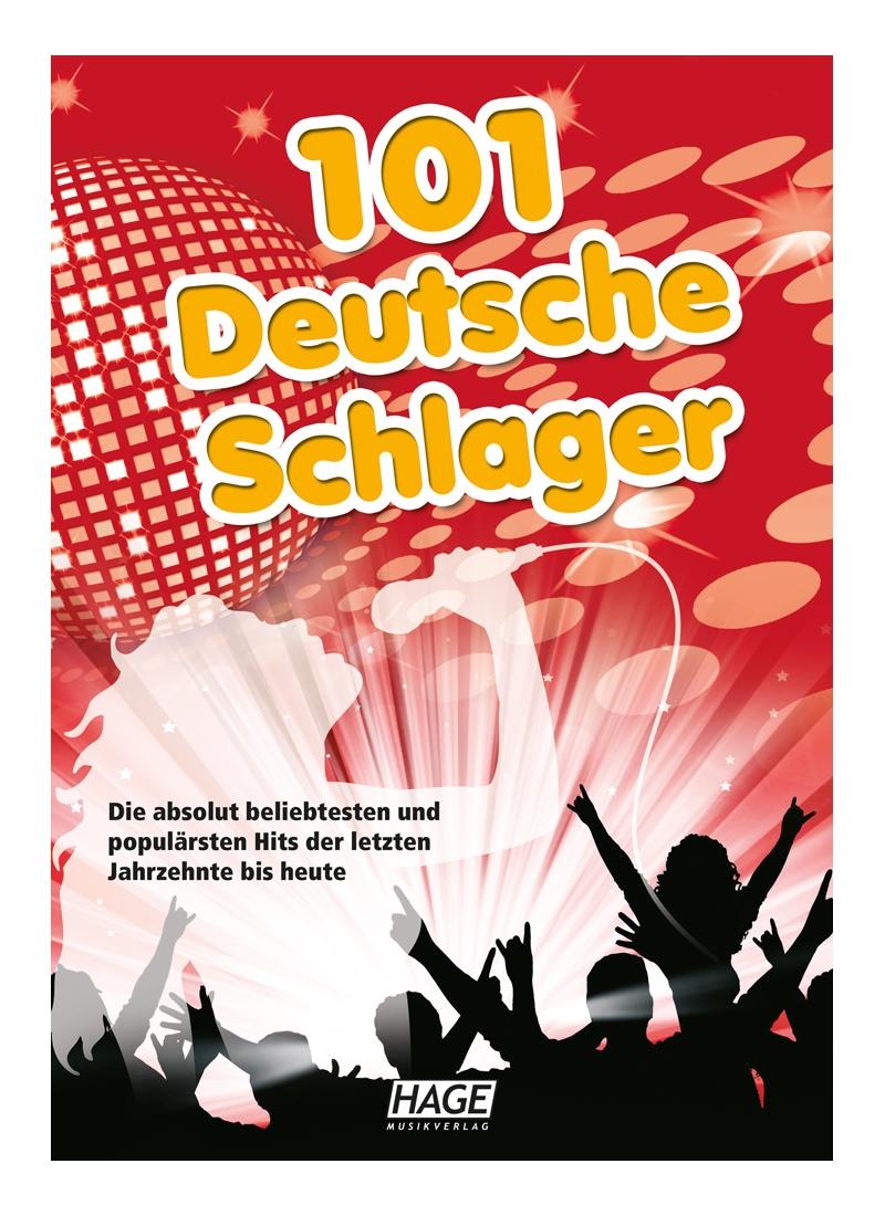101 Deutsche Schlager - Notenheft