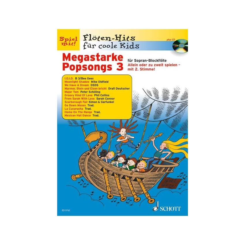 Megastarke Popsongs 3