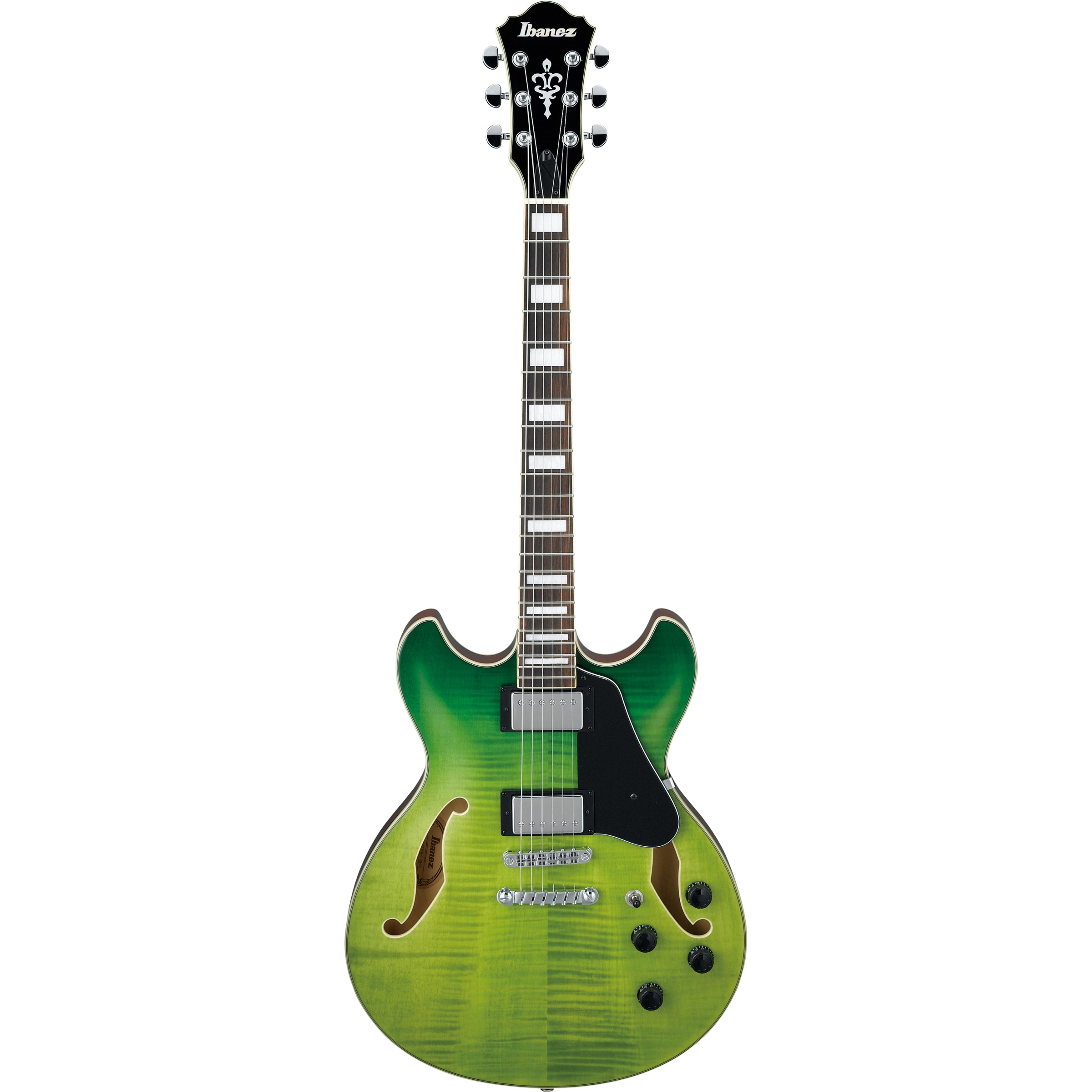 IBANEZ Artcore Semi-Hollow Green Valley Gradation