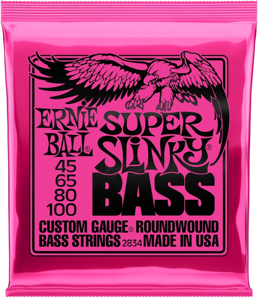 Ernie Ball EB2834 Super Slinky 45-100 E-Bass Saiten